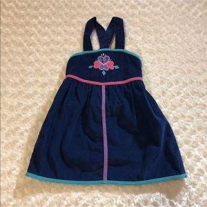 Carters Girls' Jumper Dress